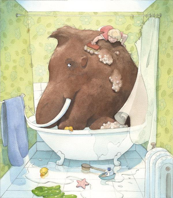 Μαμούθ μπάνιο
