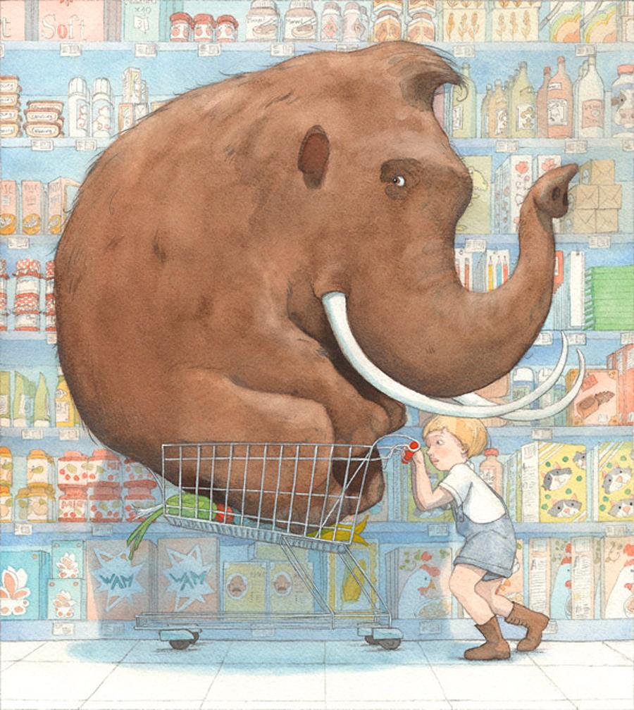 Μαμούθ super market