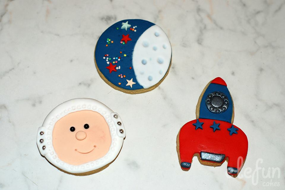 space butter cookies