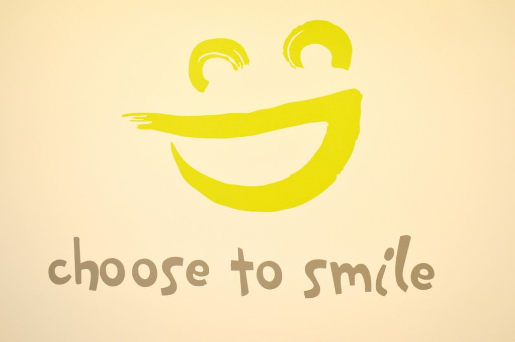 Choose to smile