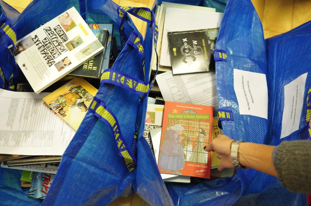 bookwave 2013 2013_Γεμίζοντας σακούλες
