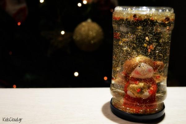 xmas crystal ball DIY