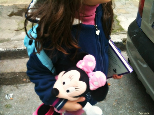 Girl with Minie Mouse
