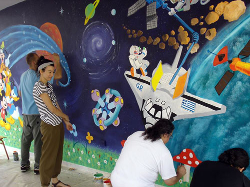 Ζωγράφοι σε δράση για τα παιδιά5
