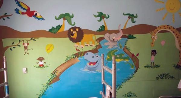 Ζωγράφοι σε δράση για τα παιδιά6