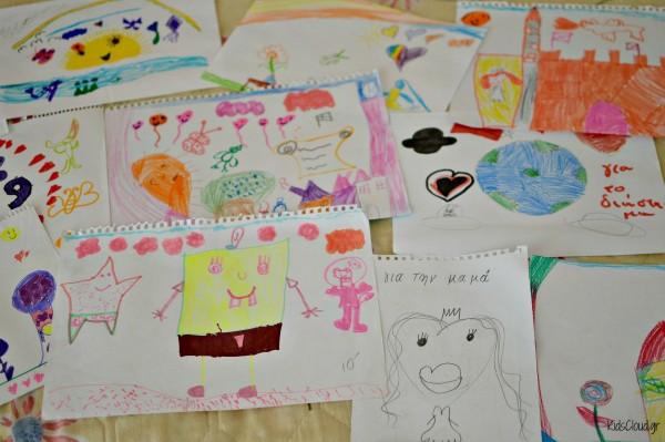 παιδικές ζωγραφιές 2