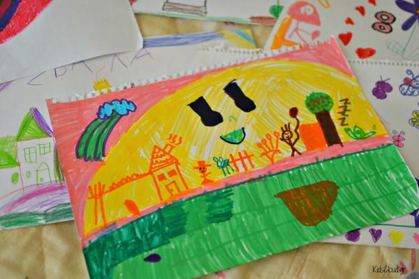 παιδικές ζωγραφιές 4