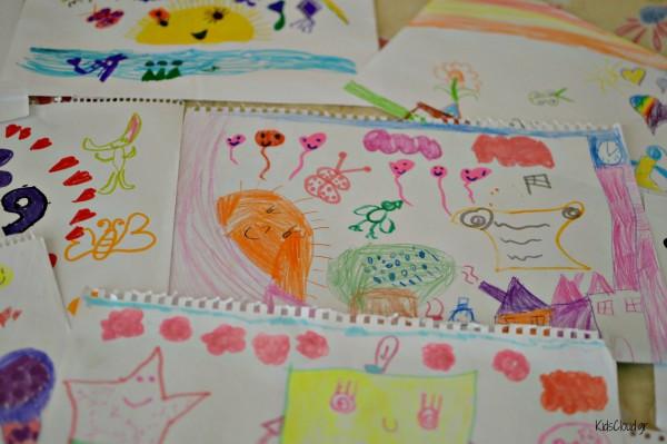 παιδικές ζωγραφιές 6